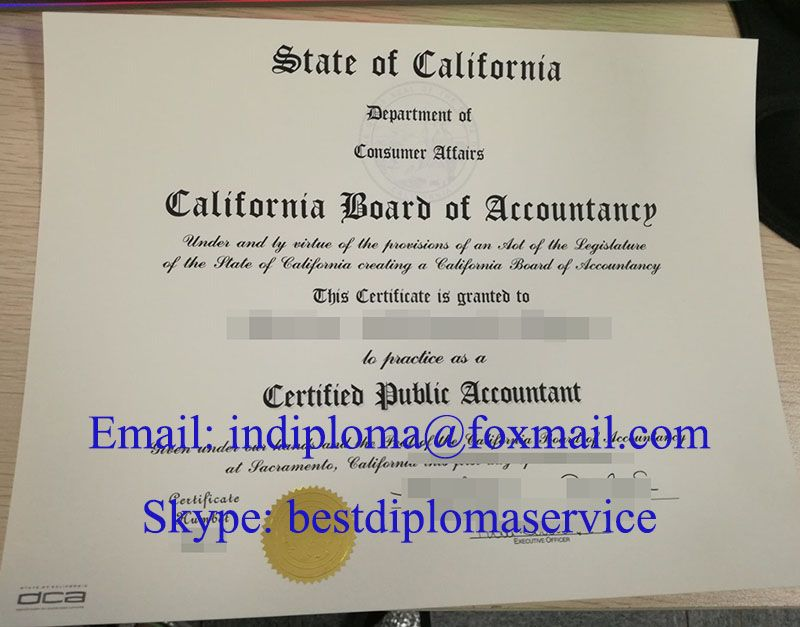 How To Buy A Fake Cpa Certificate In Us Buy Cpa California