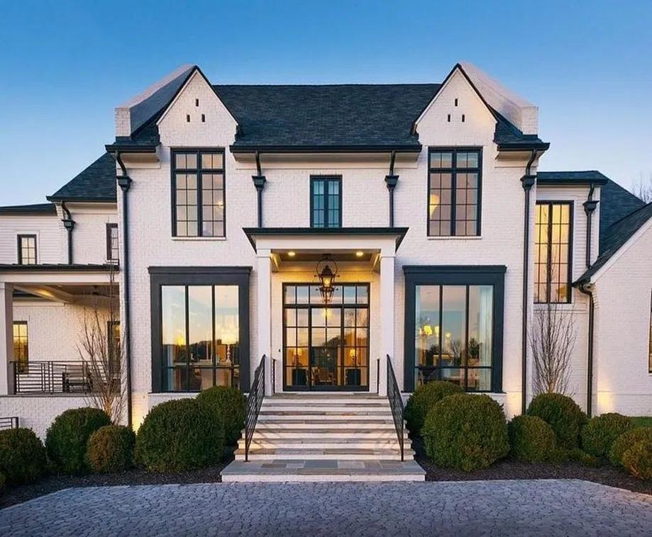 30 Popular Dream House Exterior Design Inspirations 12 Tendollarbux Com House Designs Exterior House Exterior Dream House Exterior