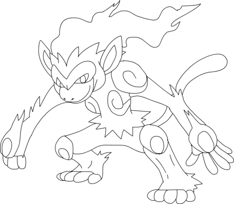 Pokemon Infernape Dibujo Para Colorear Pokemon Coloring Pages Pokemon Coloring Coloring Pages