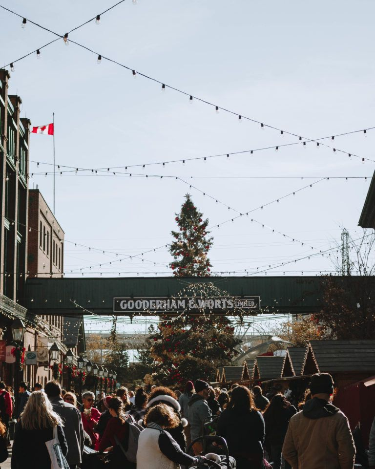 Toronto Christmas activities this December... Distillery