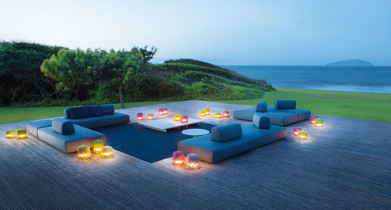 Orlando Paola Lenti Outdoor Furniture Outdoor - Lounge Sofa Orlando