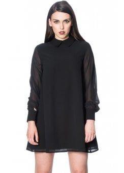 704d9f4b5ff Banned Apparel Undertaker See Through Dress