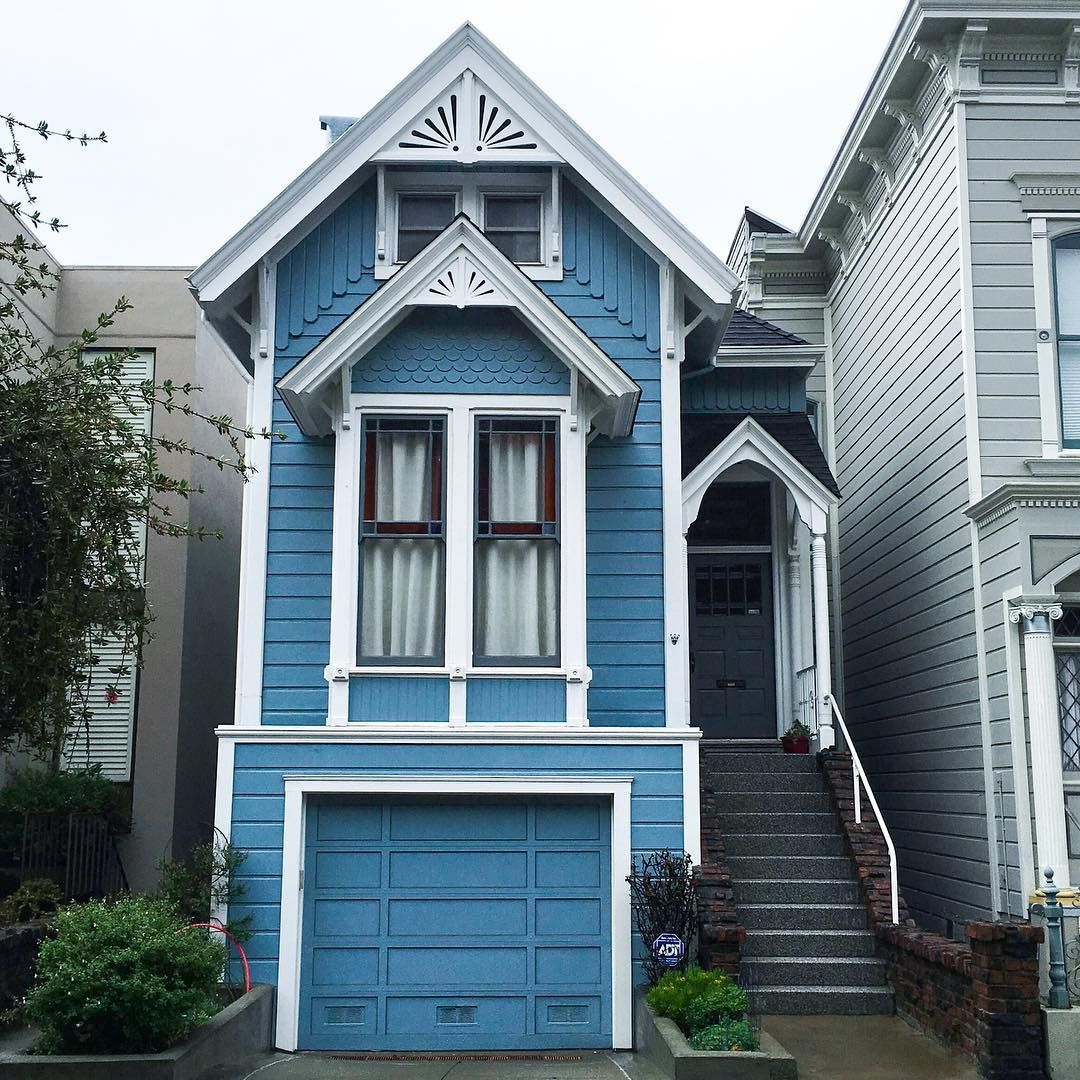 186 Likes, 8 Comments   @sf_daily_photo On Instagram: U201c1818 Green St,.  Daily PhotoVictorian HousesCowSan FranciscoSan ...