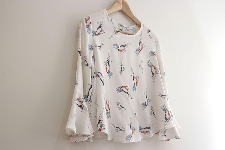 DIY Costura: Blusa de mujer (patrones gratis) | C y C Blusas | Pinterest