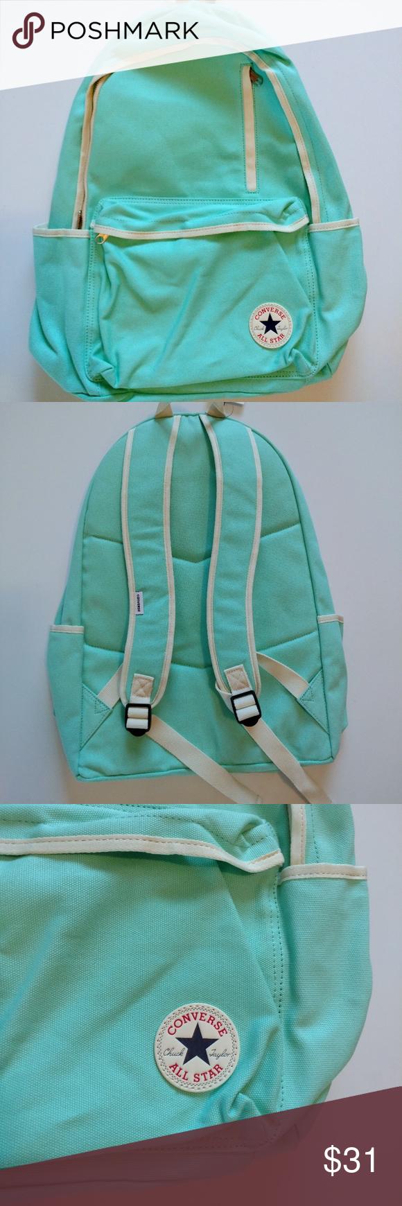 37f03ab50d45 Converse Go Teal Blue Aqua Backpack Chuck Taylor Condition  Brand new with  tags NWT Mint Color  Aqua Teal