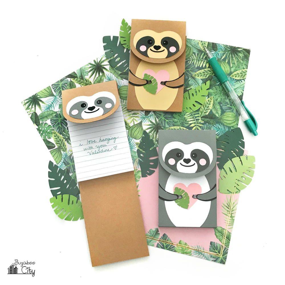DIY Sloth Notepad Sloth, Crafts, Paper crafts