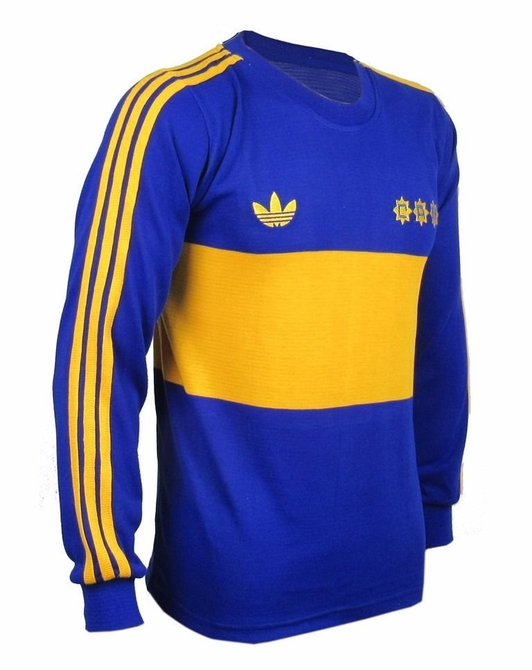best service 805f2 0cc68 Boca Juniors Maradona Long Sleeve Retro Jersey Soccer Football Shirt All  Sizes