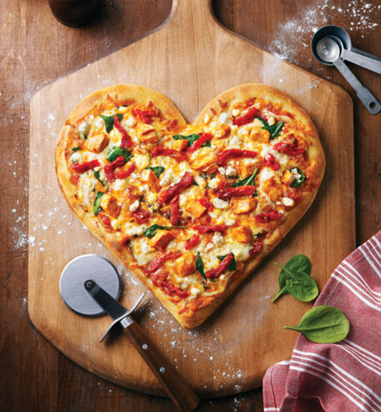 In the spirit of today, you can have a pizza our hearts!  Happy Valentine's Day!   #holiday #celebrate #love