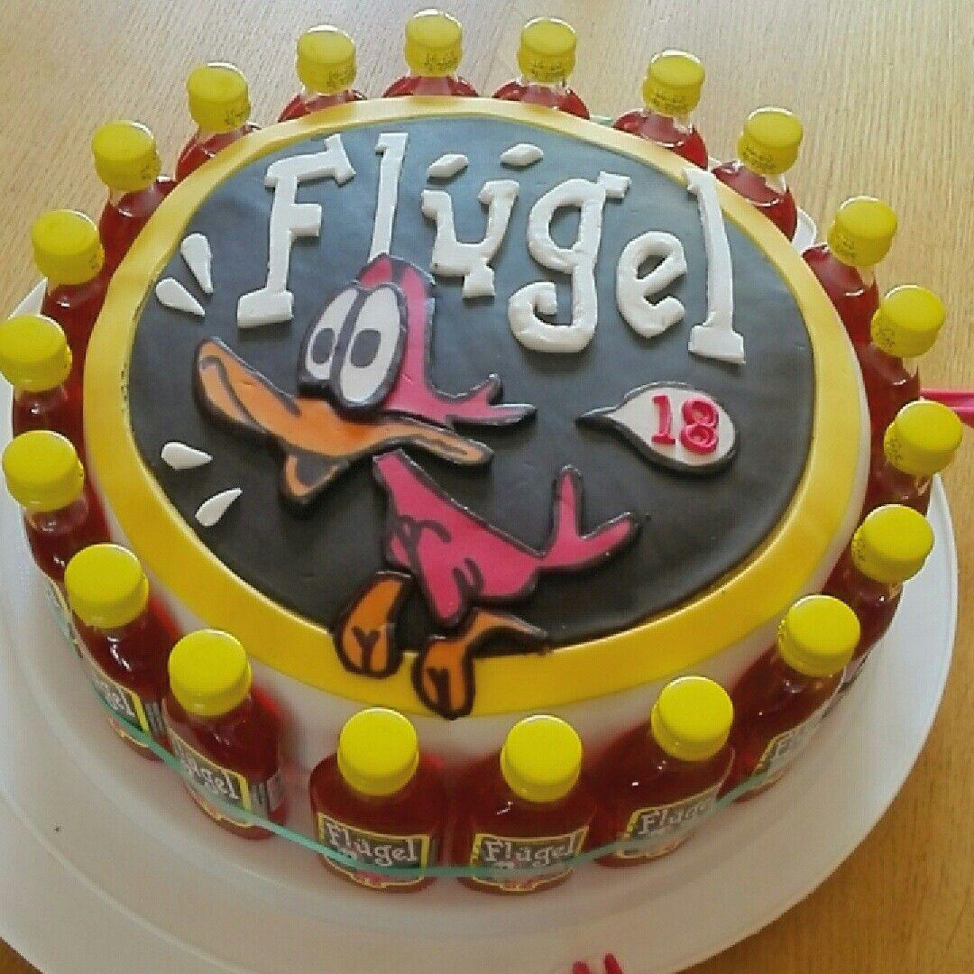 Flügel cake