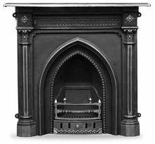 Carron Gothic Cast Iron Combination Fireplace Gothic Home Decor Gothic House Cast Iron Fireplace