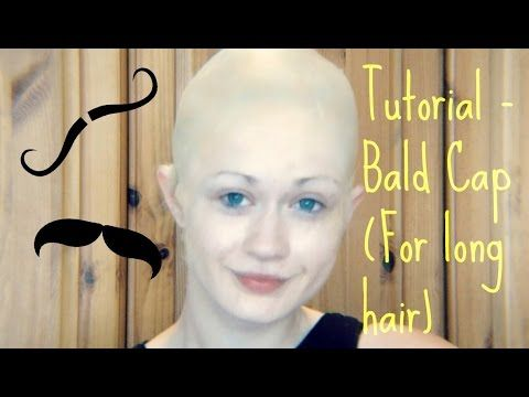 e61a76ee6cd Tutorial - Bald Cap (For Long Hair) - YouTube | Shows: Marvin's Room ...