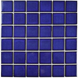 Somertile 11 875x11 875 Inch Ocean Square Bering Porcelain Mosaic Floor And Wall Tile Pack Of 10 Porcelain Mosaic Tile Porcelain Mosaic Mosaic Flooring