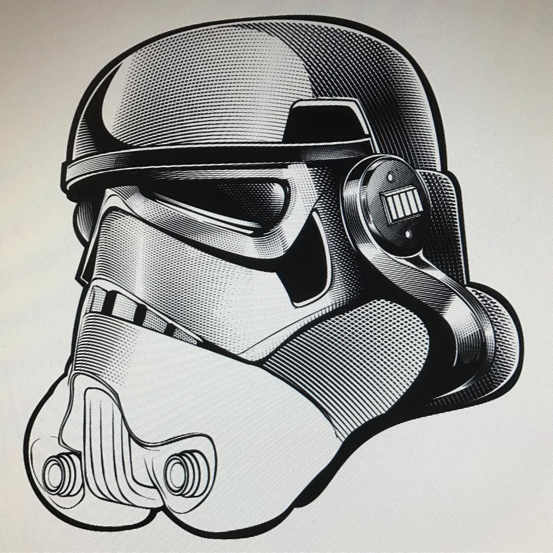 Trooper thus far. vector trooper helmet pentool