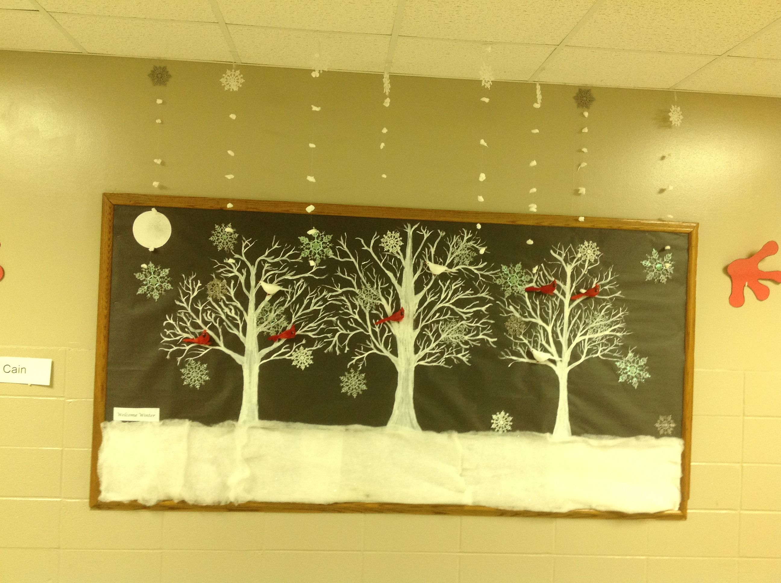 Preschool Winter Bulletin Board Display | My Kindergarten\'s Winter ...