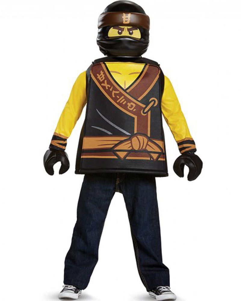 Lego Ninjago Movie Zane Classic Boys Costume