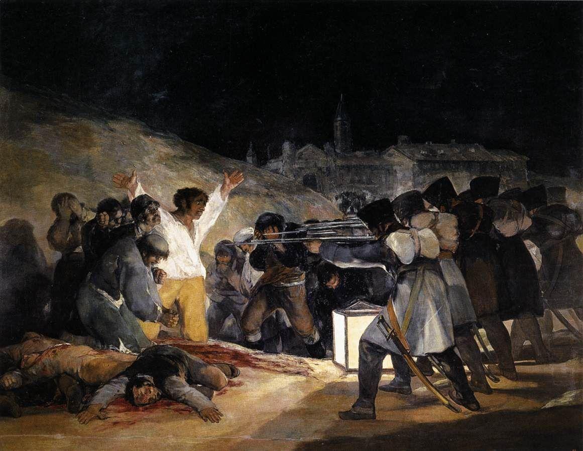 Francisco GOYA - 1814 el 3 de mayo 1808. los fusilamientos (prado, madrid)