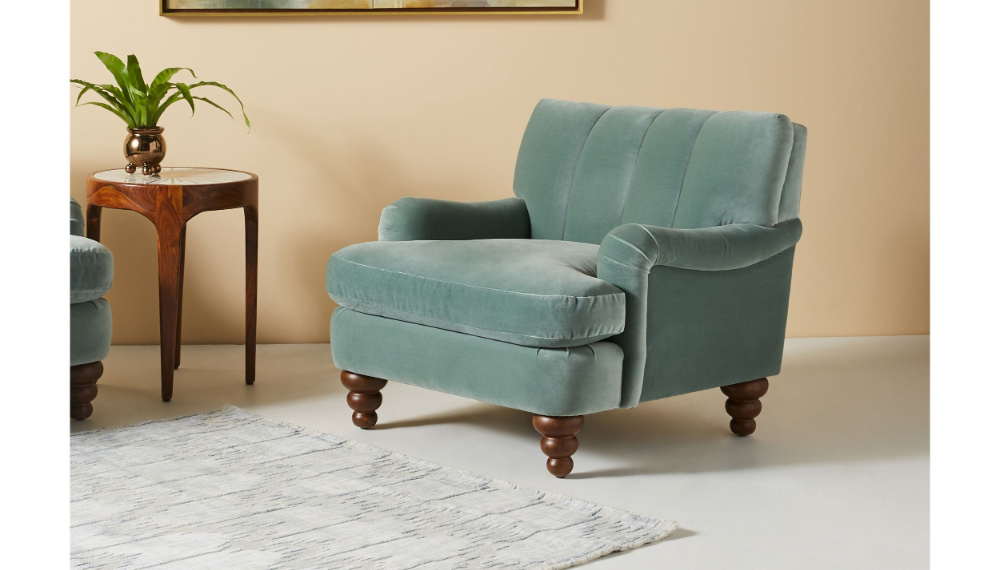 Channel Tufted Occasional Chair Occasional Chairs Living Room Design Decor Comfy Chairs