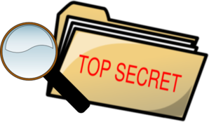Top Secret Folder And Magnifying Glass Clip Art Vector Clip Art Online Royalty Free Public Domain Sunday School Kids Spy Party Sunday School Rooms