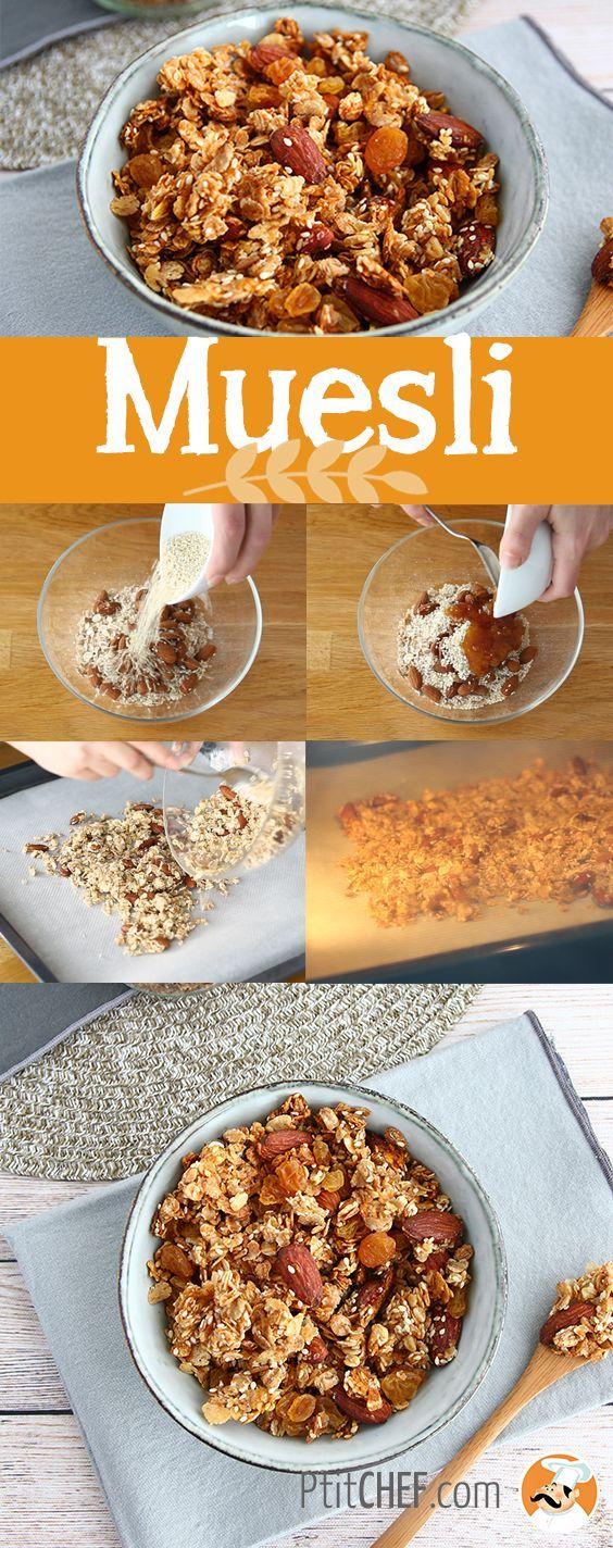Muesli, du granola fait maison | Recette en 2019 | Muesli, Recette muesli et Recette muesli maison