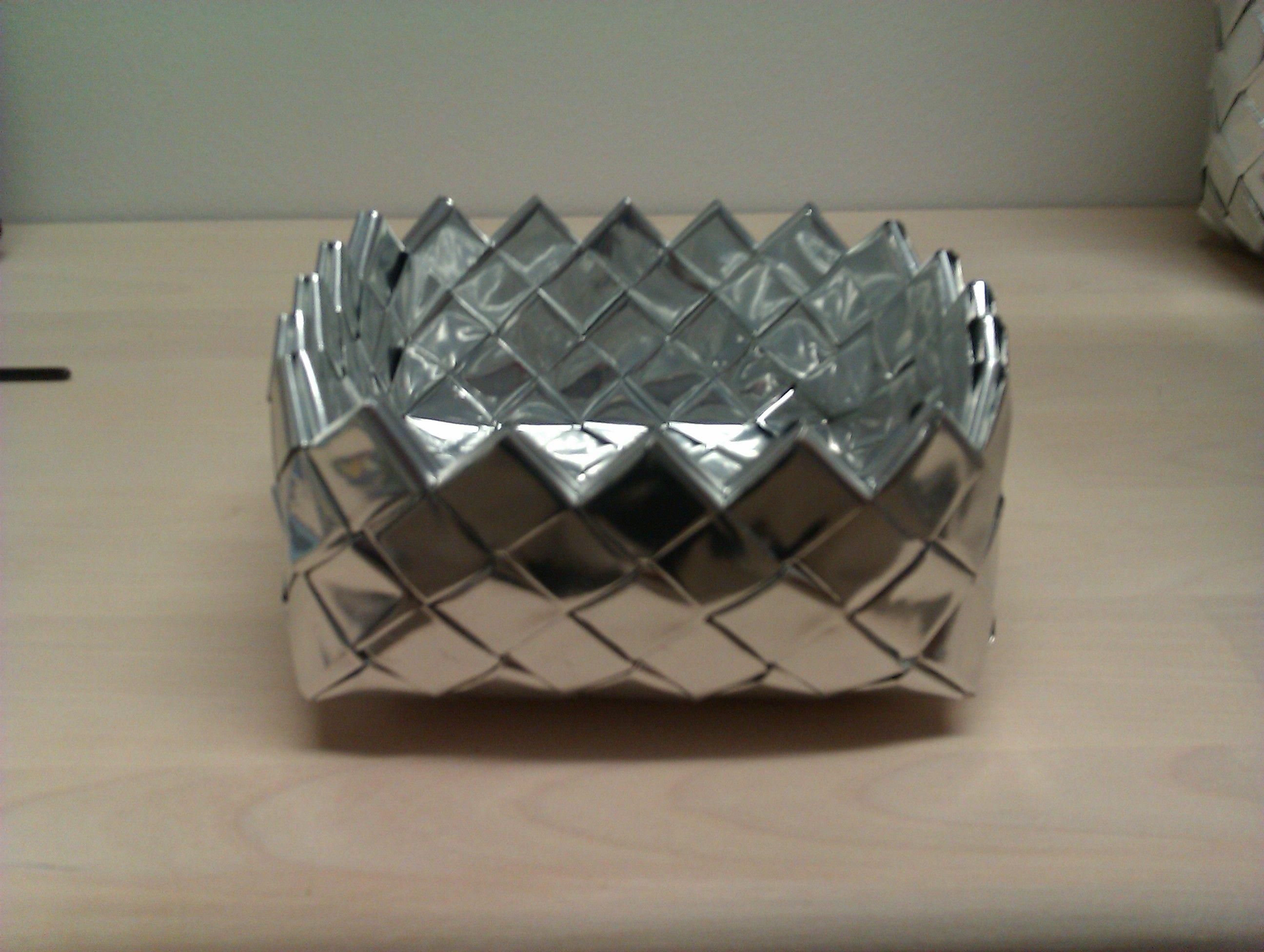 Sølv kurv - Britta Hjorth