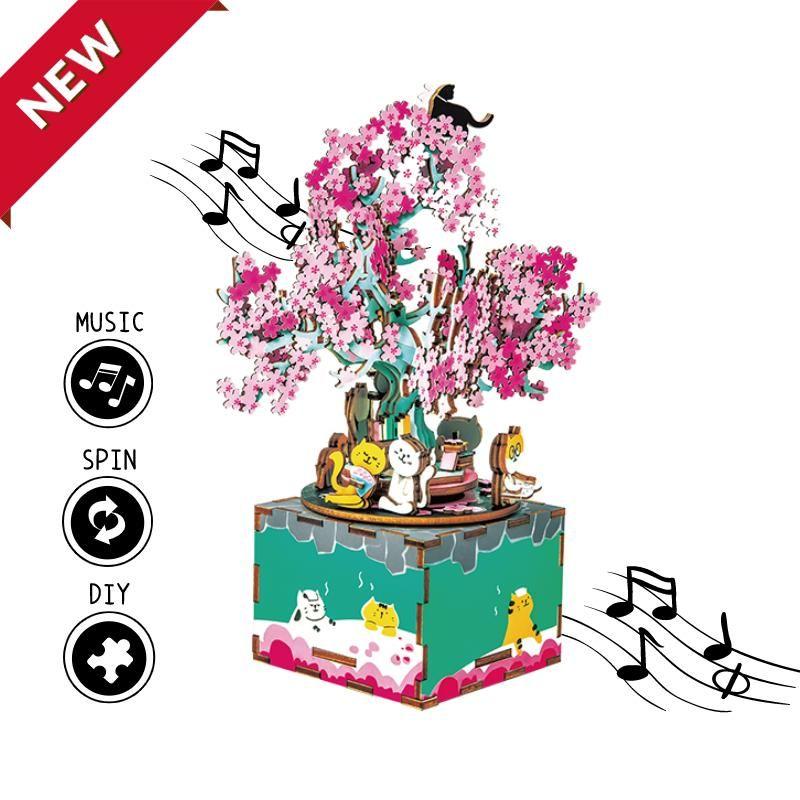 Music Box Cherry Blossom Tree Am409 Cherry Blossom Tree Blossom Trees Cherry Blossom