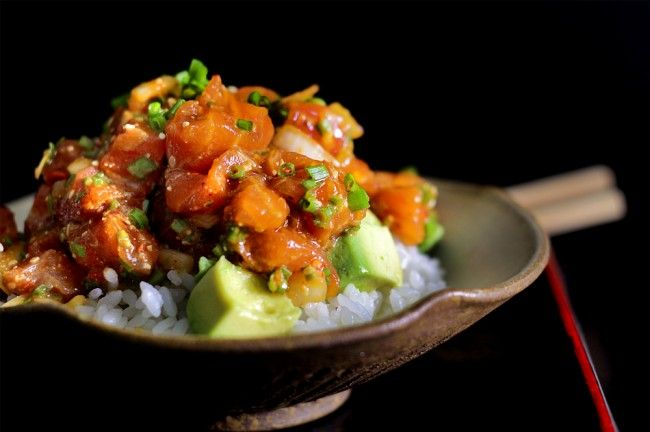 Hawaiian spicy salmon poke recipe no deposit casino games online free