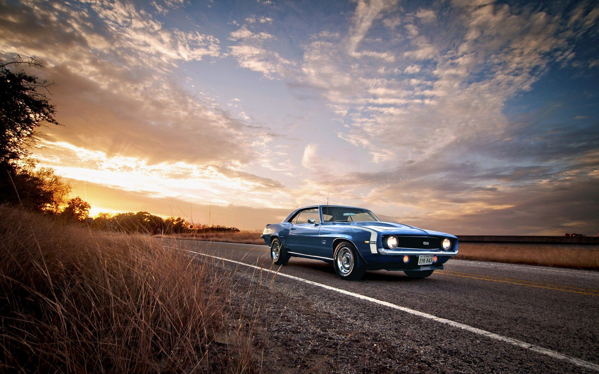 photography of camaro ss classic muscle car hd wallpaper 1920×1200