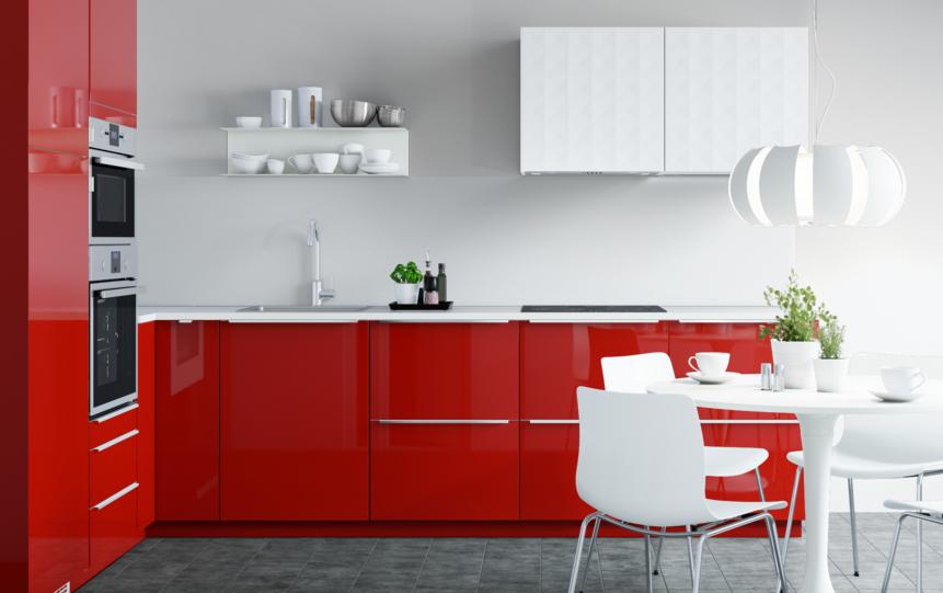 Aumenta la temperatura con un rojo brillante ikea - Ikea cocinas electrodomesticos ...