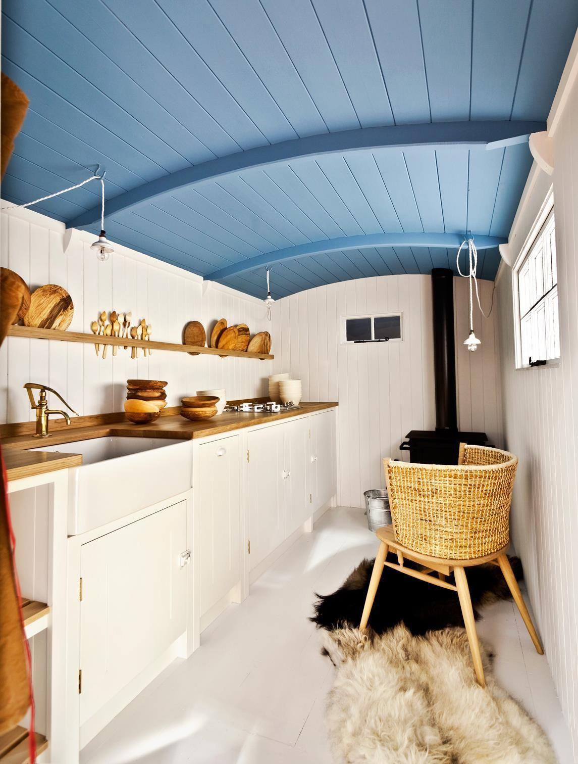 British Standard Cupboards Shepherds Hut | OFS | Pinterest | British ...