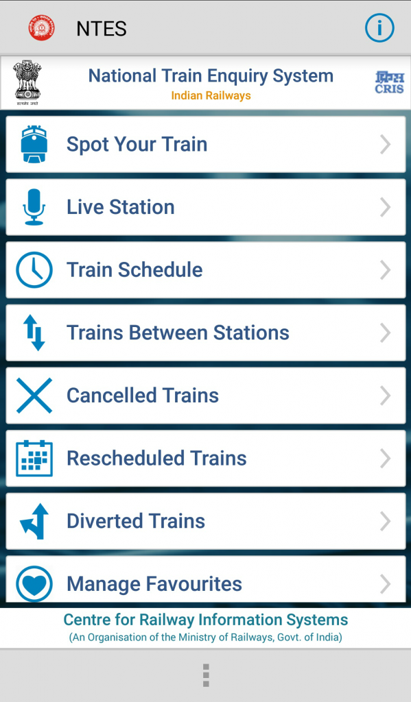 National Train Enquiry System App Cyber Faqs Windows