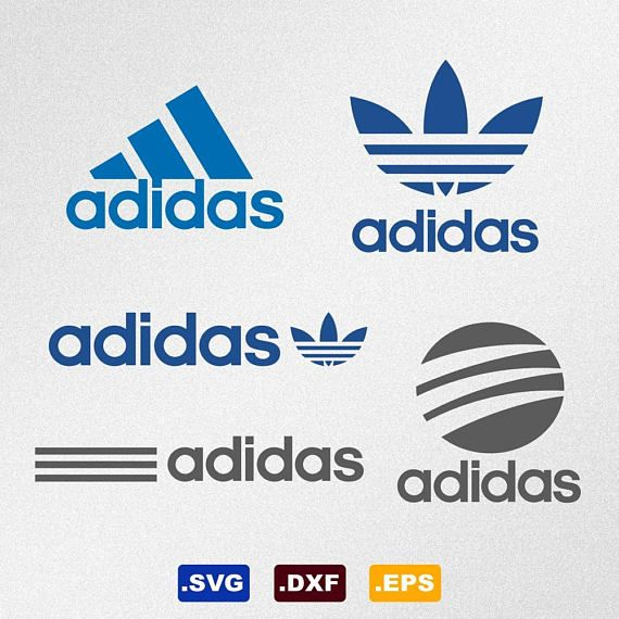 release date: b5a56 16f7d Adidas Logo Svg Dxf Eps Vector Files for Silhouette Cricut