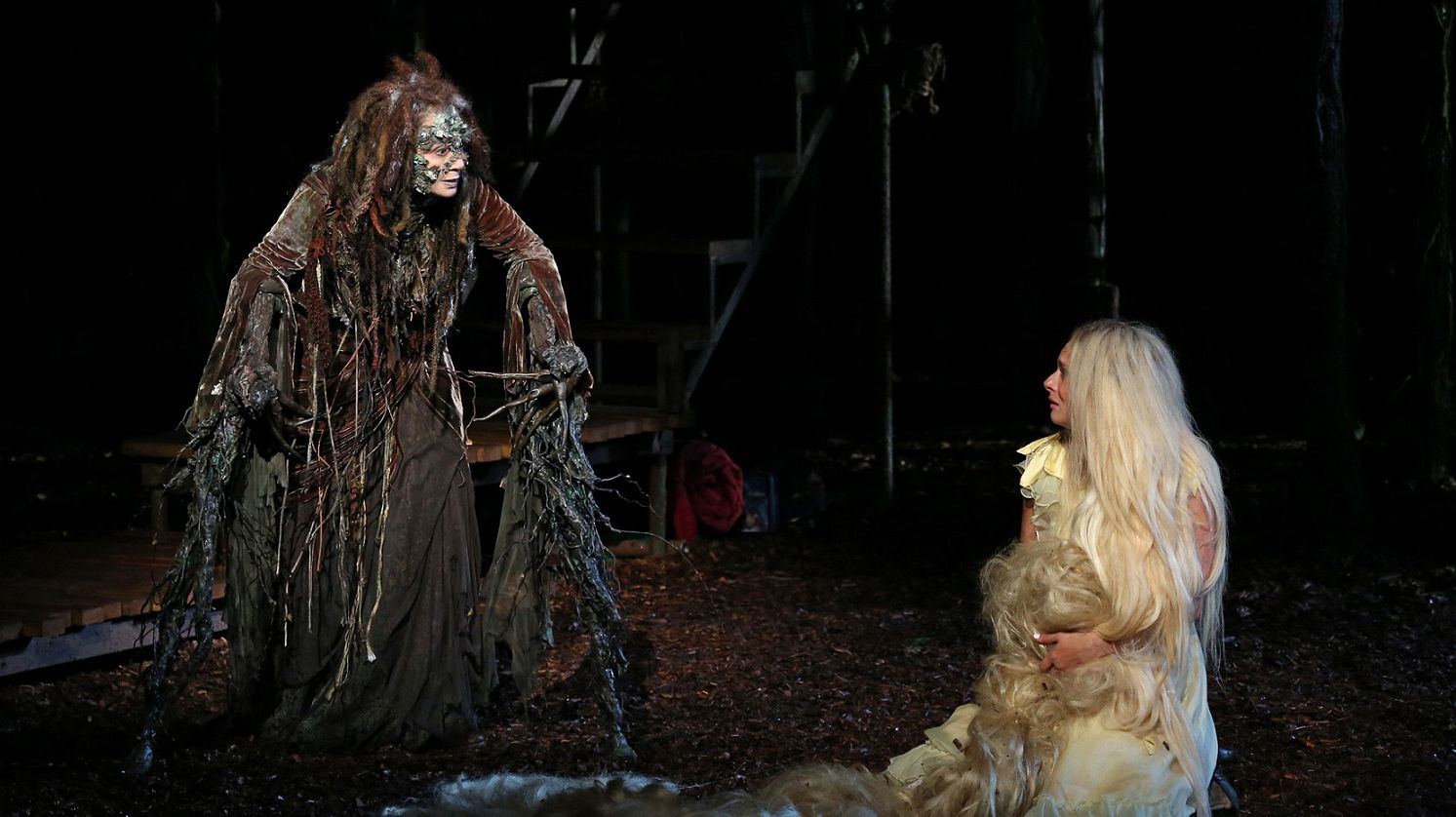 into the woods rapunzel wig - Google Search