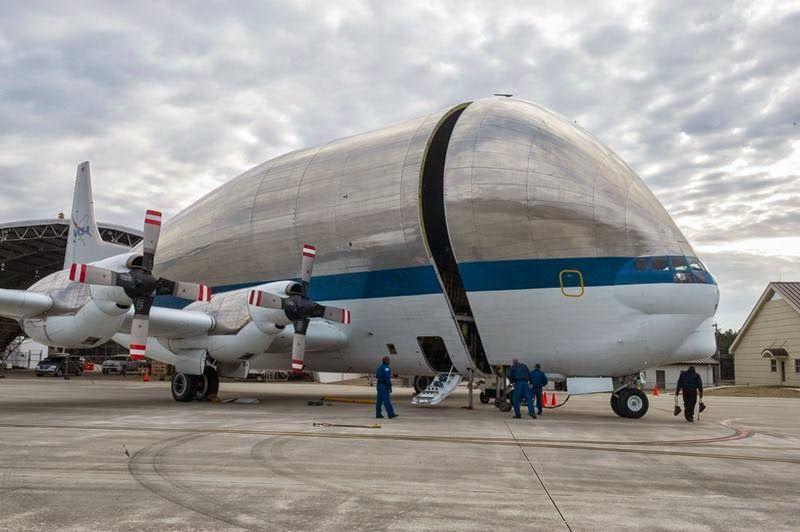 Ritebook: NASA's Airbus Industries, Super Guppy | Cargo aircraft ...