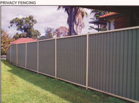 Metal Privacy Fence Quality Steel Fencing And Gates