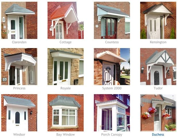 House · Wood Door Awnings ... & Wood Door Awnings with trellis | Choose A Canopy Style That Fits ...