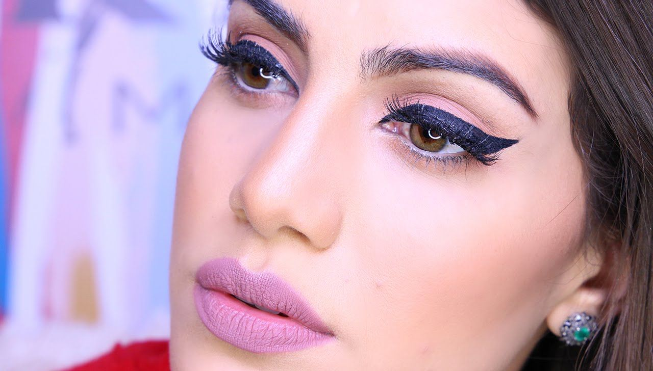 Hey babes todays tutorial is on how to create an easy perfect todays tutorial is on how to create an easy perfect cat eye using baditri Images