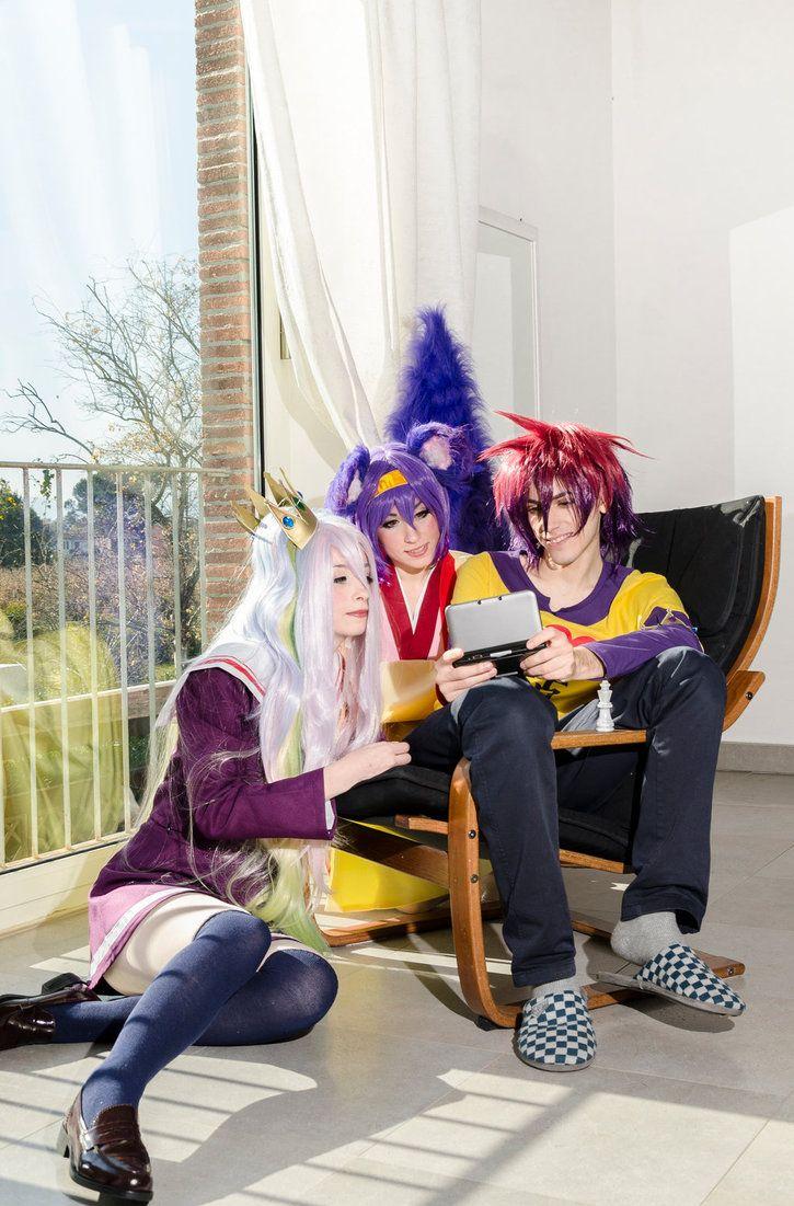 No Game No Life - Izuna + Sora + Shiro by FaggioMAG.deviantart.com on @DeviantArt