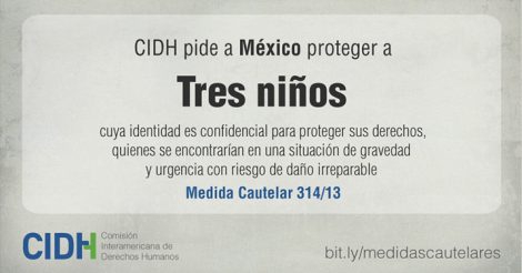osCurve   Contactos : CIDH - Solicitamos la adopción de medidas cautelar...