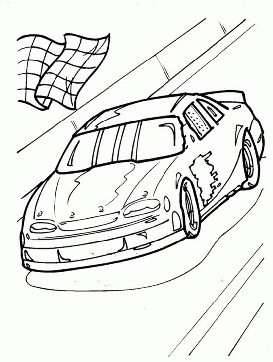 Nice Nascar Coloring Pages 30 NASCAR Coloring Sheet For