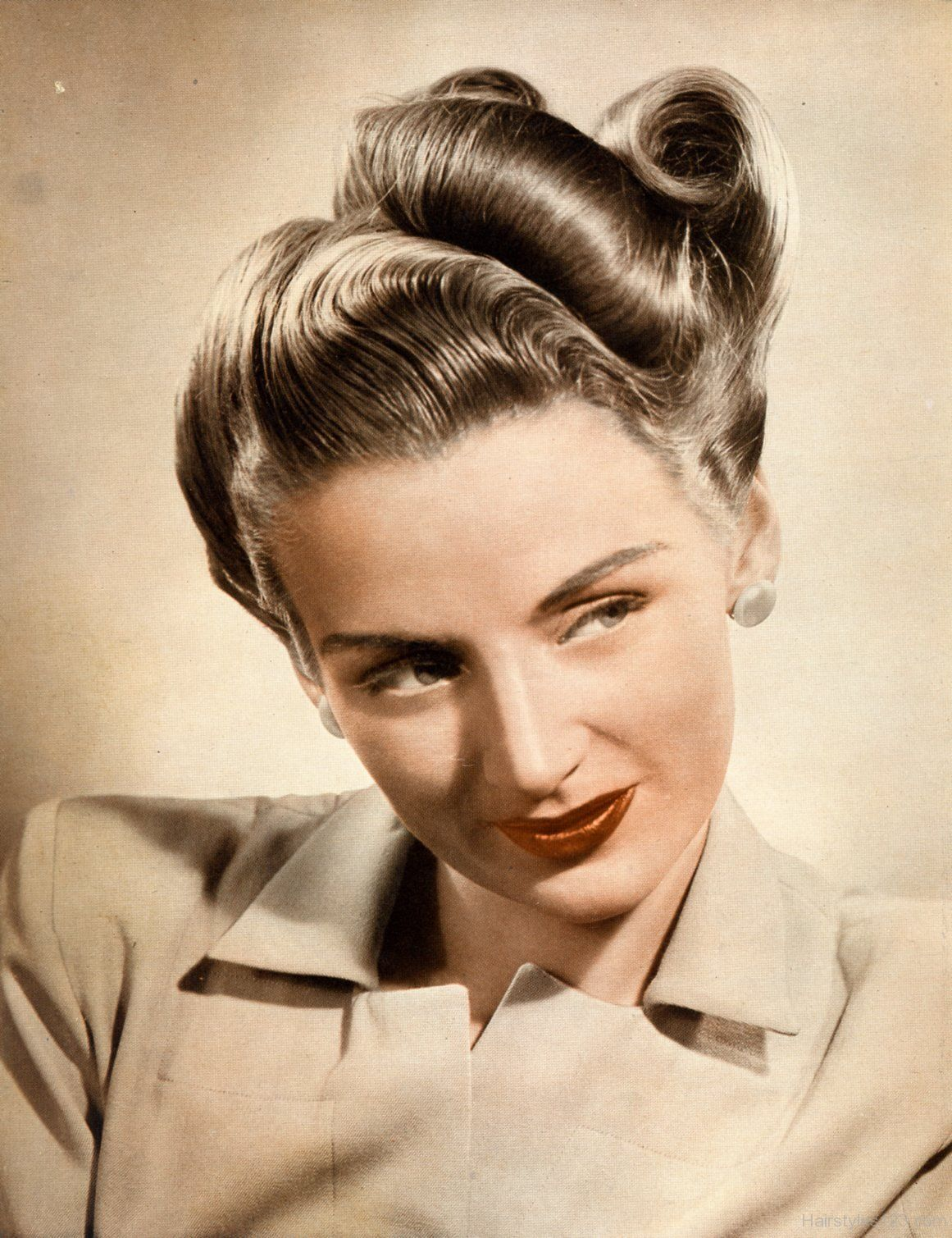 Image result for 1930s hairstyles updo | 1930년대 헤어스타일, 헤어 ...