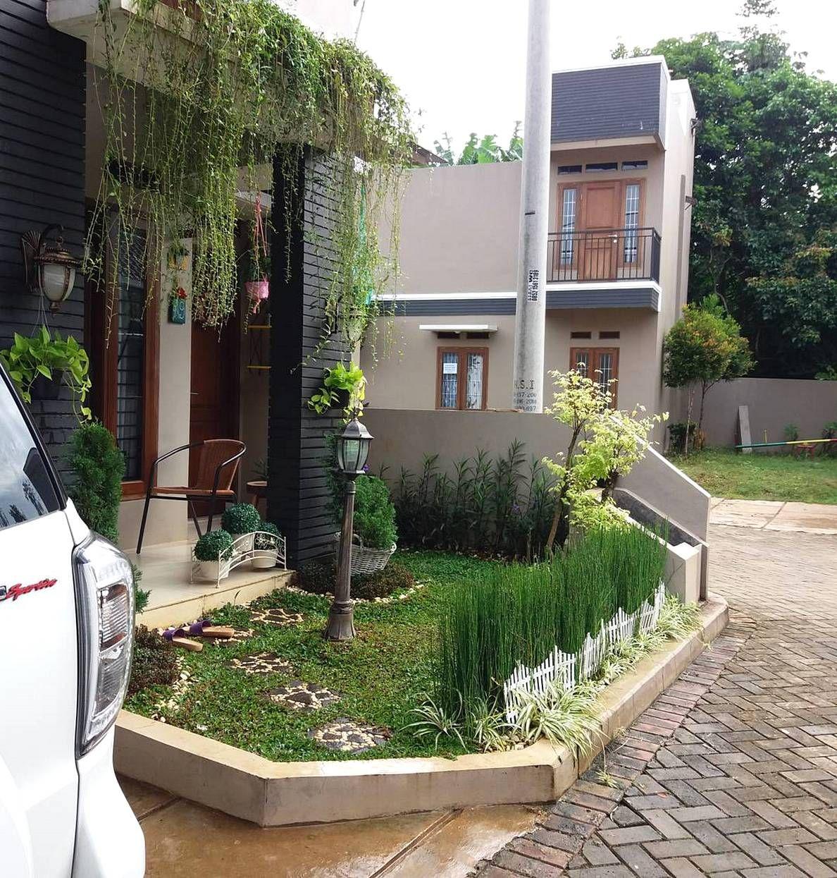 Taman Minimalis Depan Rumah Type 36 | Pertamanan halaman ...