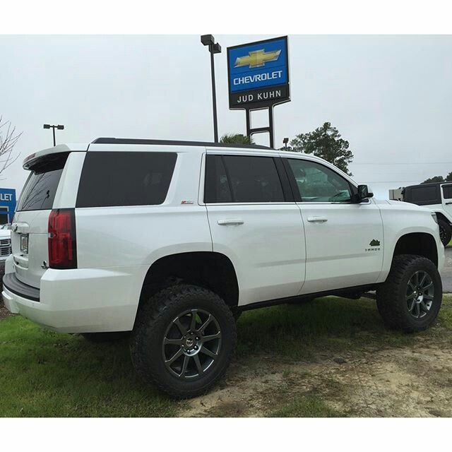 2016 Chevrolet Tahoe Z71 Rocky Ridge Lifted Conversion Package