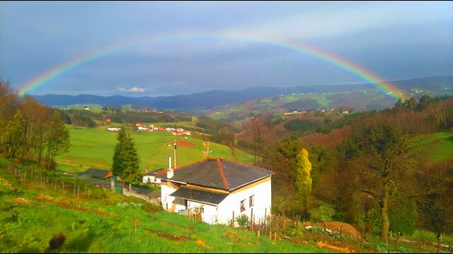 Vistas desde Cornás.Tineo.Asturias.Spain