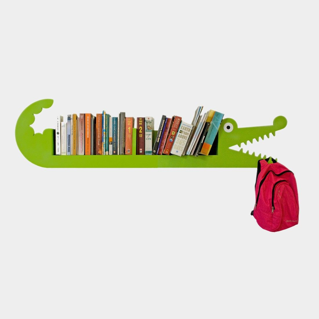 Crocodile Bookcase For Kids Very Creative Www Riseonly