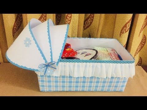 How To Recycle Old Box Newborn Baby Gift Ideas Handmade Baby Boy