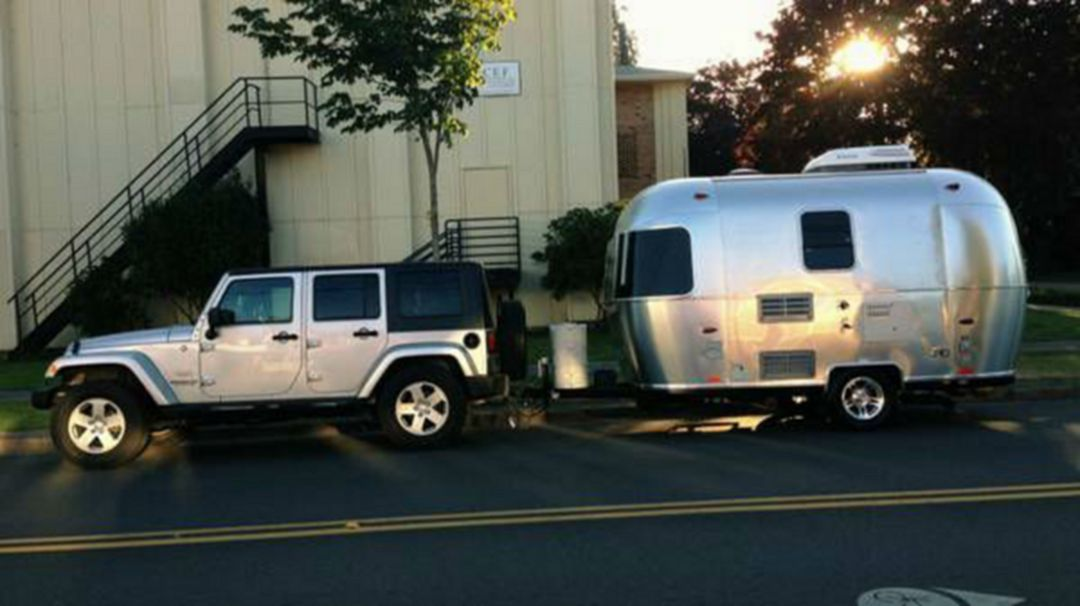 Your New 2017 Airstream Sport 22fb Travel Trailer Is Waiting For