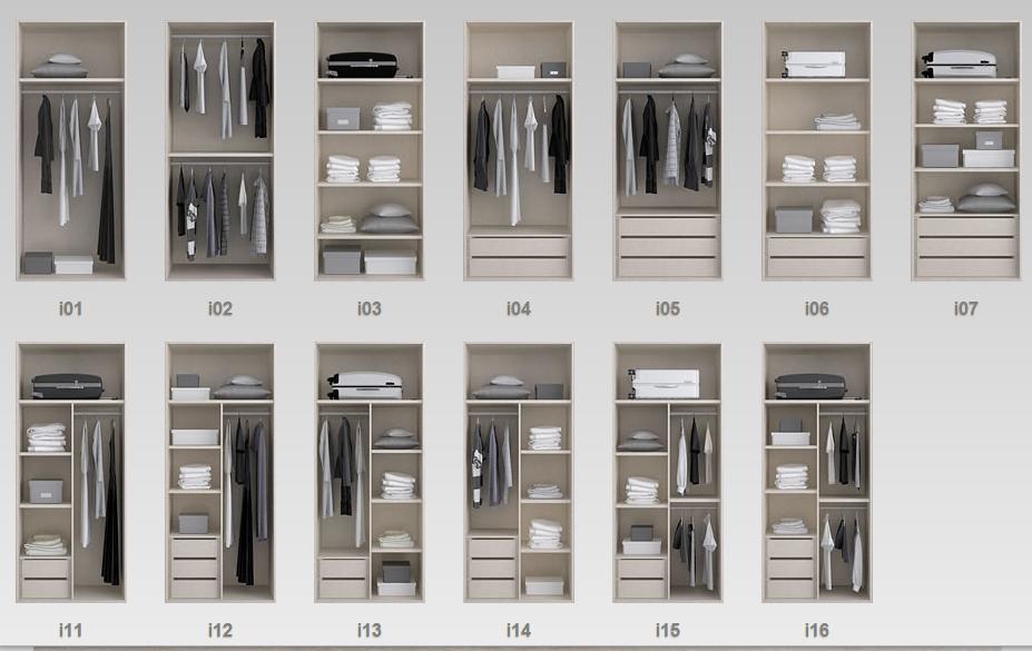 Diseamos el interior de tus armarios y vestidores a medida y