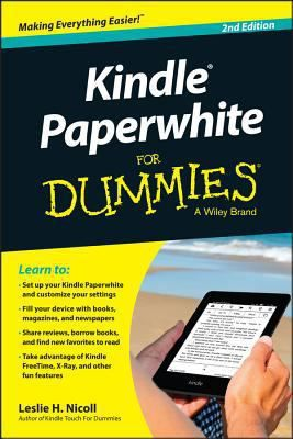 Kindle Paperwhite For Dummies A Wiley Brand Set Up Your Kindle