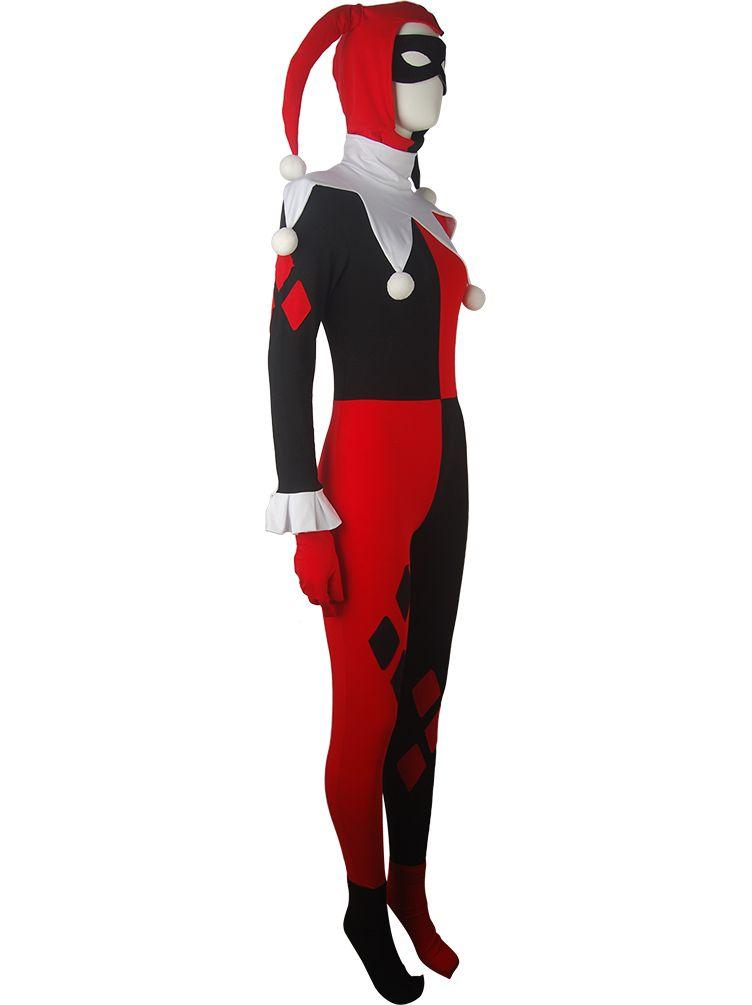 dc comics batman supervillain harley quinn costume clown