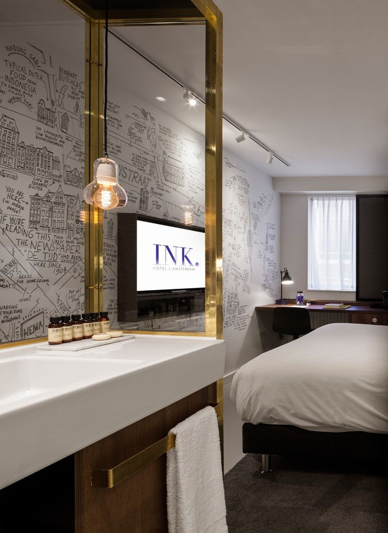 Ink hotel amsterdam by concrete architectural associates for Designhotel holland